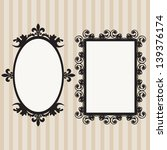 frame set mirror set  border set | Shutterstock .eps vector #139376174