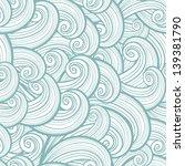 seamless waves | Shutterstock .eps vector #139381790