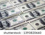 Closeup American Dollars...