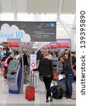 toronto   may 10  passengers... | Shutterstock . vector #139395890