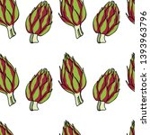 vector seamless pattern with... | Shutterstock .eps vector #1393963796