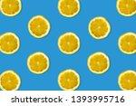 Creative Pattern Made Of Lemon. ...