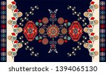 colorful hungarian vector... | Shutterstock .eps vector #1394065130