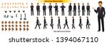 businessman character model...   Shutterstock .eps vector #1394067110