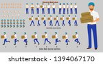 courier person character model... | Shutterstock .eps vector #1394067170