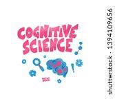 cognitive science concept.... | Shutterstock .eps vector #1394109656