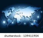 best internet concept of global ... | Shutterstock . vector #139411904