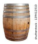Wooden Barrel For Wine Steel - Fine Art prints