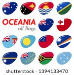collection of flags from all... | Shutterstock .eps vector #1394133470