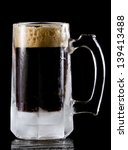 frozen mug with a stout style... | Shutterstock . vector #139413488
