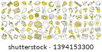 patch set on white background.... | Shutterstock .eps vector #1394153300