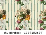vintage beautiful and trendy... | Shutterstock . vector #1394153639