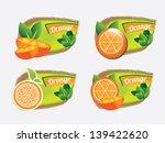orange design icons over gray... | Shutterstock .eps vector #139422620