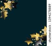 diagonal border from confetti... | Shutterstock .eps vector #1394278889