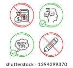do or stop. messages  quick... | Shutterstock .eps vector #1394299370