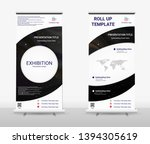 vertical roll up banner  ...   Shutterstock .eps vector #1394305619
