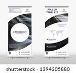 vertical roll up banner  ...   Shutterstock .eps vector #1394305880