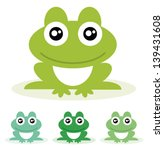 frog. vector illustration. | Shutterstock .eps vector #139431608