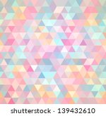 triangular texture  seamless | Shutterstock .eps vector #139432610