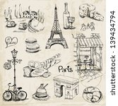 Paris Illustration Set   For...