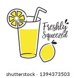 vector illustration of freshly... | Shutterstock .eps vector #1394373503