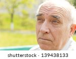close up portrait of an old man ... | Shutterstock . vector #139438133