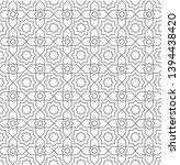 black and white vector pattern... | Shutterstock .eps vector #1394438420