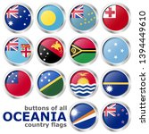 collection of flags from all... | Shutterstock .eps vector #1394449610