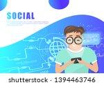 social media  people character...