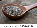 Nutritious Chia Seeds On A...