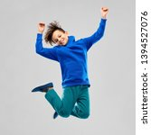 childhood  expressions and... | Shutterstock . vector #1394527076