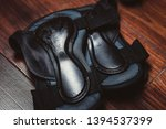 wrist guards for extreme sports.... | Shutterstock . vector #1394537399