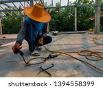 the technician is working on... | Shutterstock . vector #1394558399