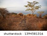 panoramic view from coastal... | Shutterstock . vector #1394581316