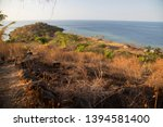 panoramic view from coastal... | Shutterstock . vector #1394581400
