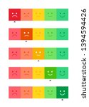 vector horizontal mood feedback ...