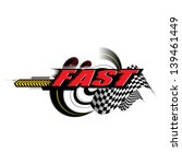 fast speed concept vector | Shutterstock .eps vector #139461449