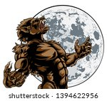 Scary Werewolf Wolf Man Horror...