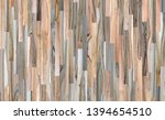 fragment of parquet floor.... | Shutterstock . vector #1394654510