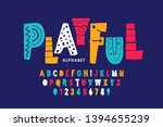 Playful Style Font Design ...