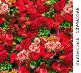 Stock photo seamless flower background 139465568
