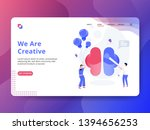landing page we are creative...