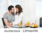 beautiful couple having... | Shutterstock . vector #139466498