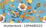 seamless pattern with... | Shutterstock .eps vector #1394680223