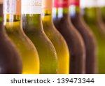 bottles of wine   Shutterstock . vector #139473344