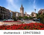 valencia  spain   may 07th 2019 ... | Shutterstock . vector #1394733863