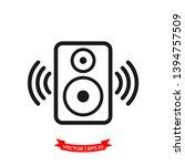 Speaker Vector Icon  Audio...