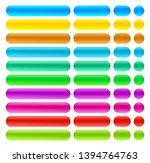 web buttons color illustration... | Shutterstock .eps vector #1394764763