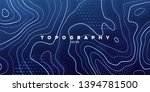 topography relief. abstract... | Shutterstock .eps vector #1394781500