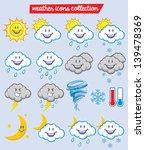 weather characters | Shutterstock .eps vector #139478369